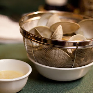 Steamed Littleneck Clams.