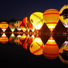Balloon Glow by Teresa Jack - Transportation Other