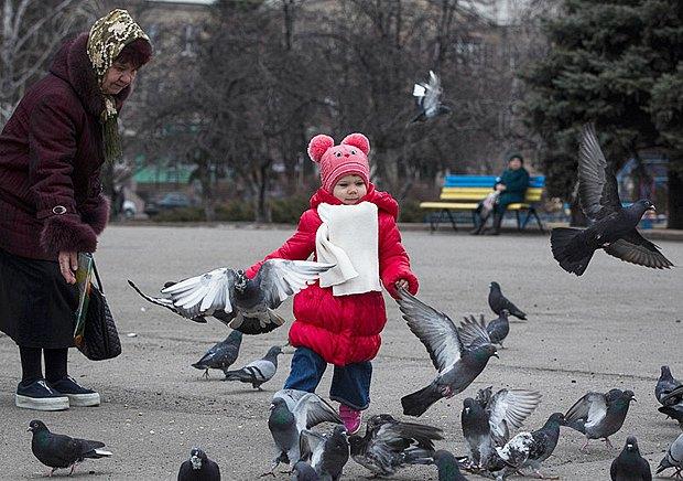 Славянск, март 2015 года.