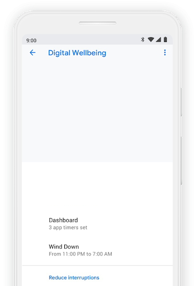 Digital Wellbeing through technology | Google