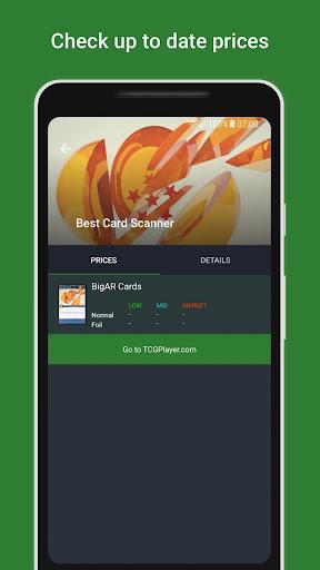 BigAR Dragon Ball Z TCG - Card Scanner 2.0 screenshots 2