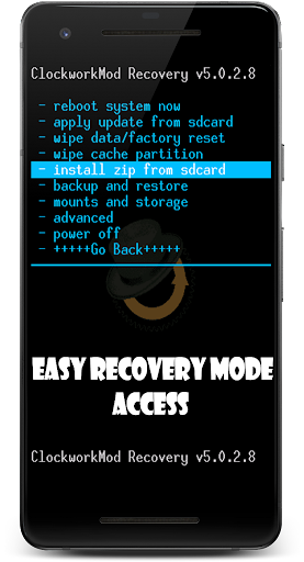 Reboot to recovery/Bootloader (root) by Mobile Direction (Google