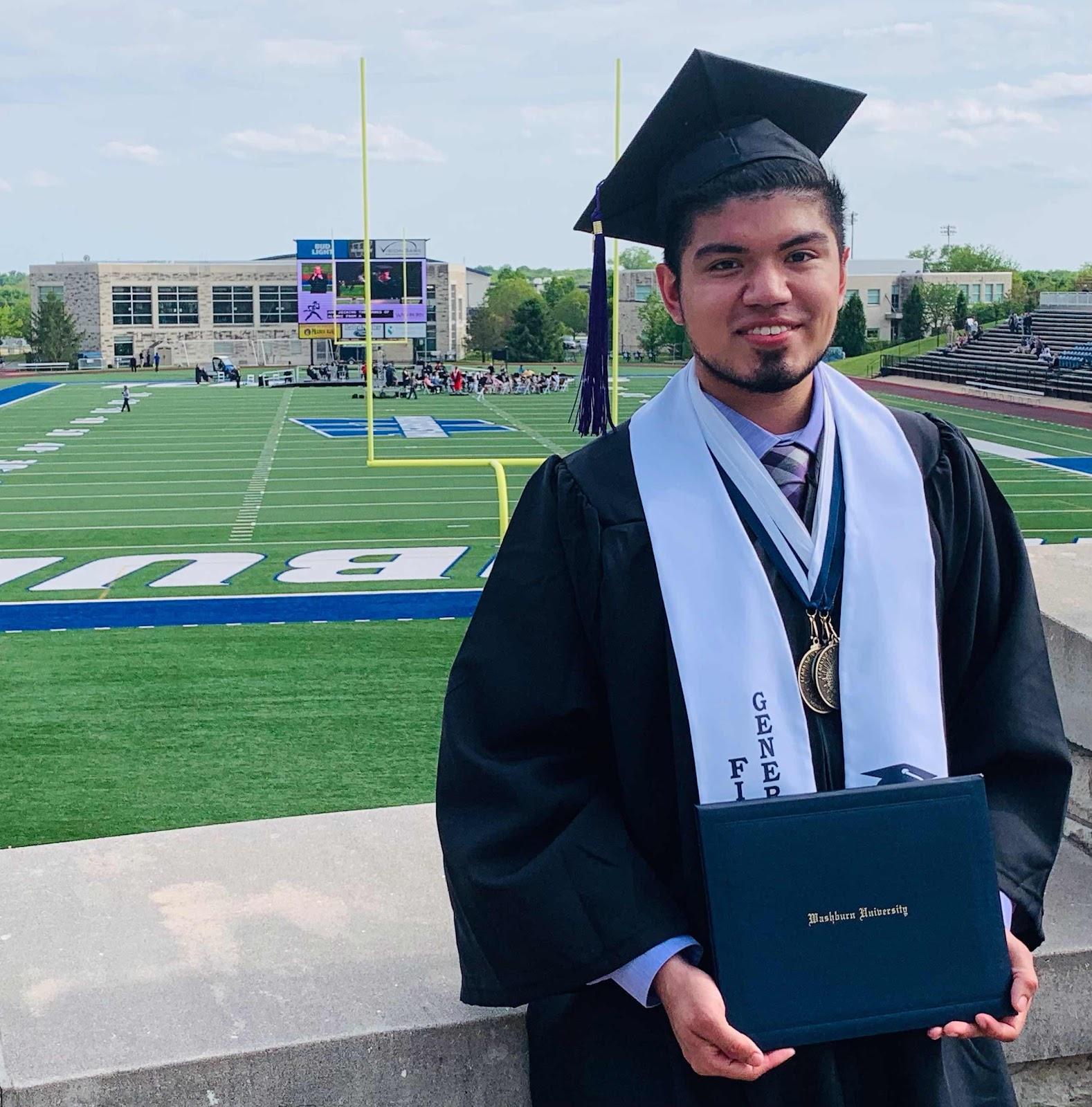 Post Graduation Picture of Ben