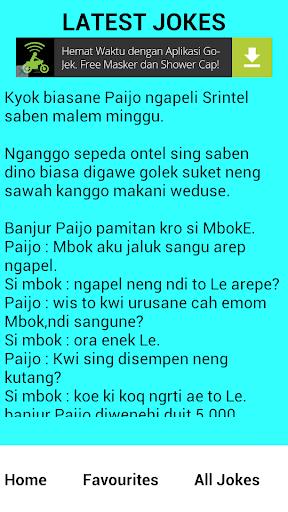 Cerita Lucu dari Jawa