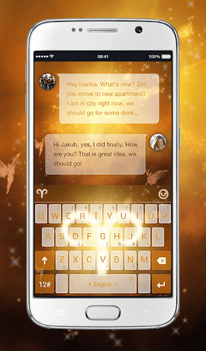 TouchPal Aries Keyboard Theme