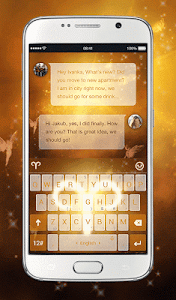 TouchPal Aries Keyboard Theme screenshot 0