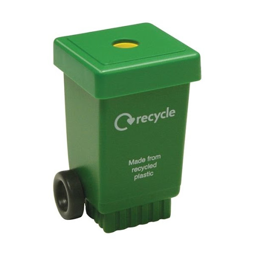 Eco Wheelie Bin Pencil Sharpener to Print