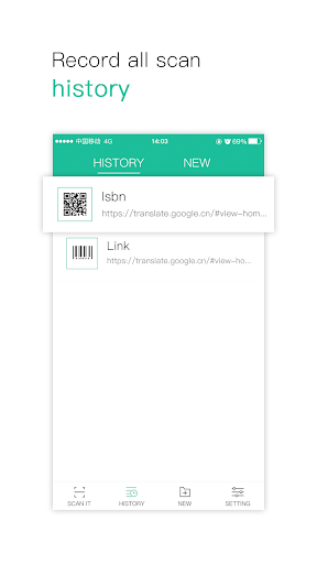 Screenshot for Accurate scanning of QR code in United States Play Store