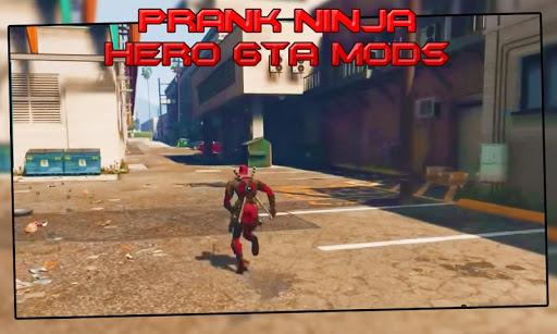 Prank ninja hero gta mods 1.0 screenshots 1