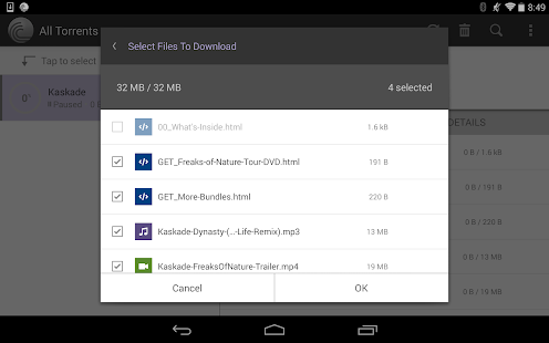 BitTorrent® Pro - Official Torrent Download App Screenshot
