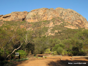 Photo: Peak Charles from the Camping Ground Carpark