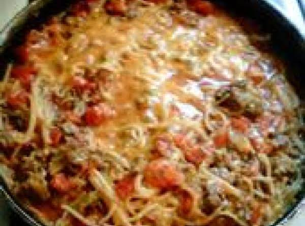 One Skillet Spaghetti Recipe
