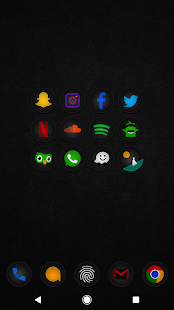 Stealth Icon Pack Screenshot