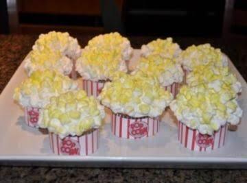 Popcorn Cupcakes Recipe