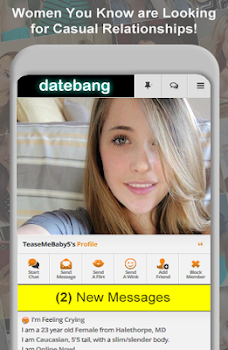 DateBang Free Hookup Dating