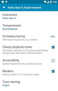 Tuner - gStrings Free v2.1.0 (Ad Free)
