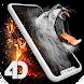 ライブ壁紙AMOLED、3D移動背景、アニメーションロック画面 -- Pixel4D