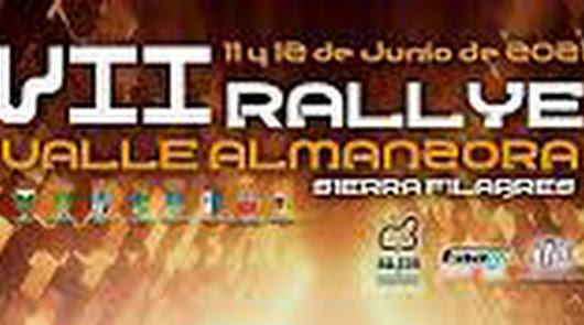 Presentación del Rallye Valle del Almanzora que se celebra este fin de semana
