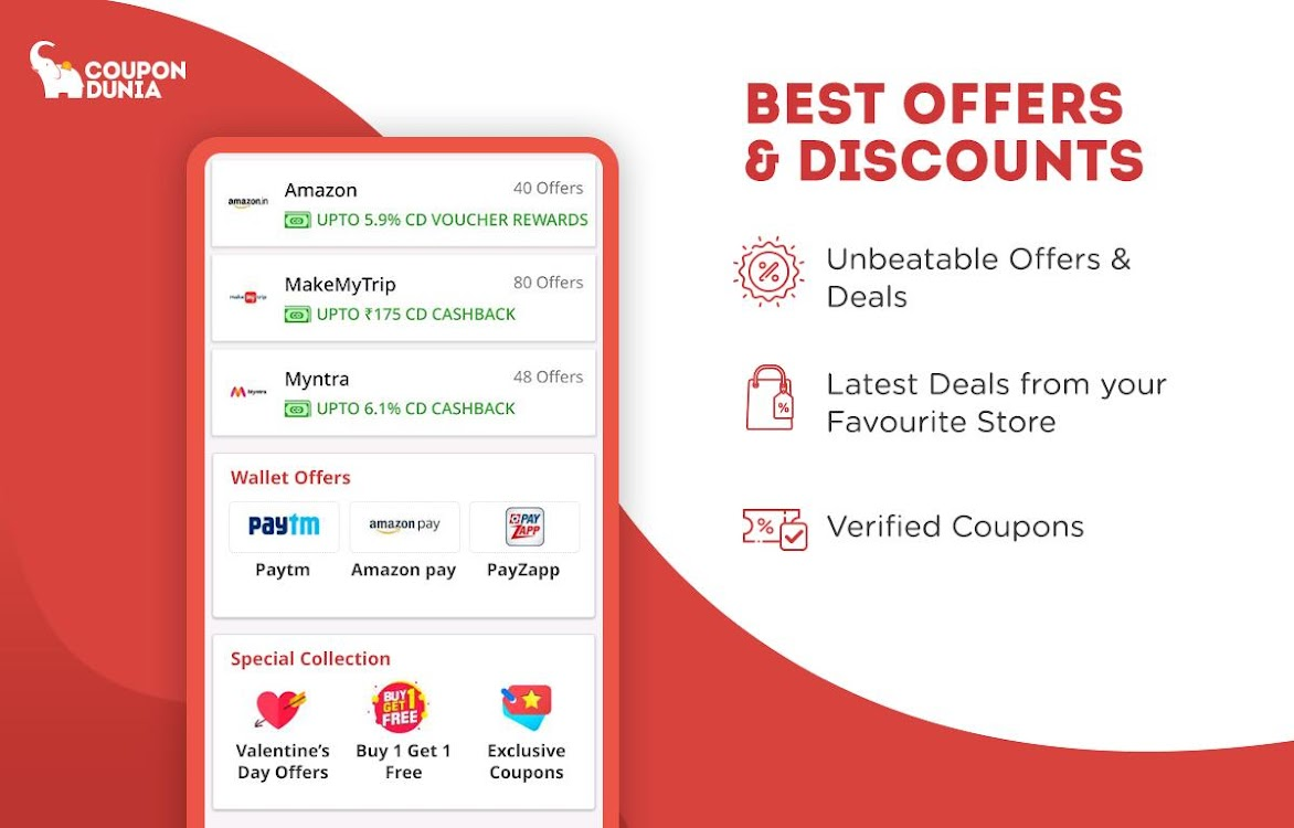 Online Coupons Offers Deals Cashback Android Apps Appagg