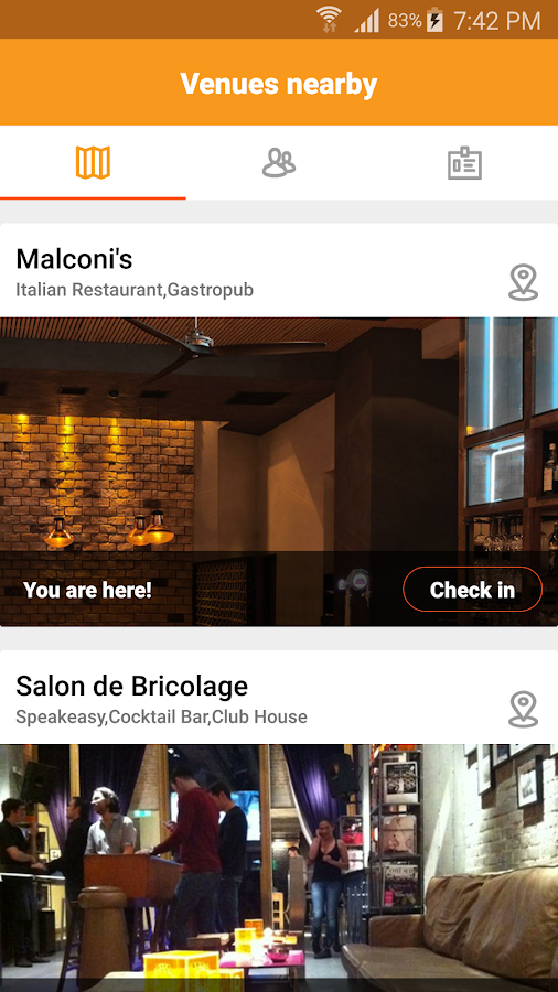 InPerson - στιγμιότυπο οθόνης