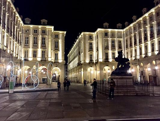 Torino di sera di Stecchia