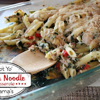 Not Yo' Mama's Tuna Noodle Casserole.