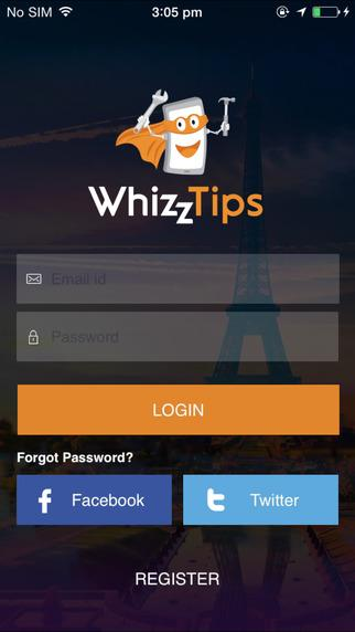 WhizzTips- screenshot