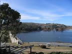 dique y lago del fuerte