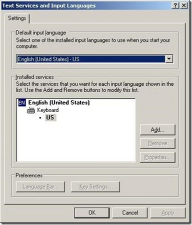 Text Services and Input Languages