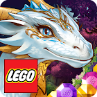 LEGO Elves Match Game with Dragons and Building icon