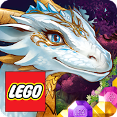 LEGO® Elves Match Game with Dragons and Building
