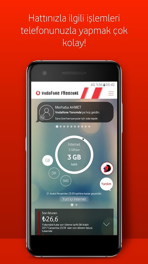 how to check your balance on vodafone bill pay