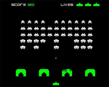 joc space invaders