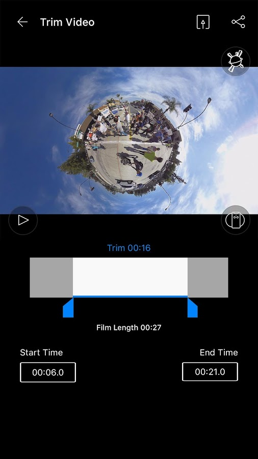 PIXPRO 360 VR Remote Viewer- screenshot