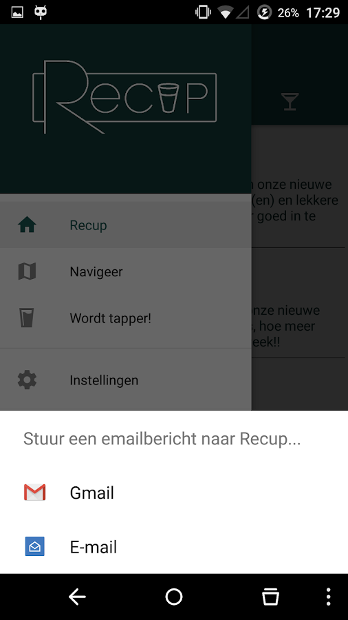 Fakbar Recup- screenshot