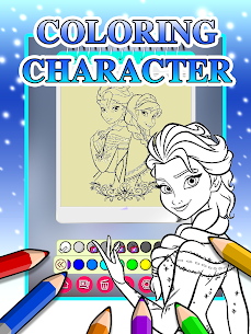 Ice Princess Coloring Pages 3