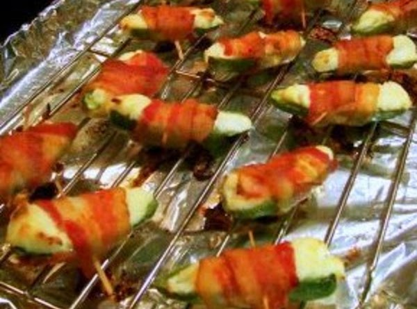 Stuffed Bacon Wrapped Jalapenos Recipe