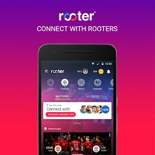 Rooter - Live Cricket Football Score & Sports News - náhled