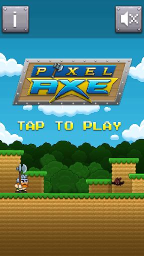 Pixel Axe not Golden axe ;