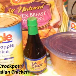 Crockpot Hawaiian Chicken.