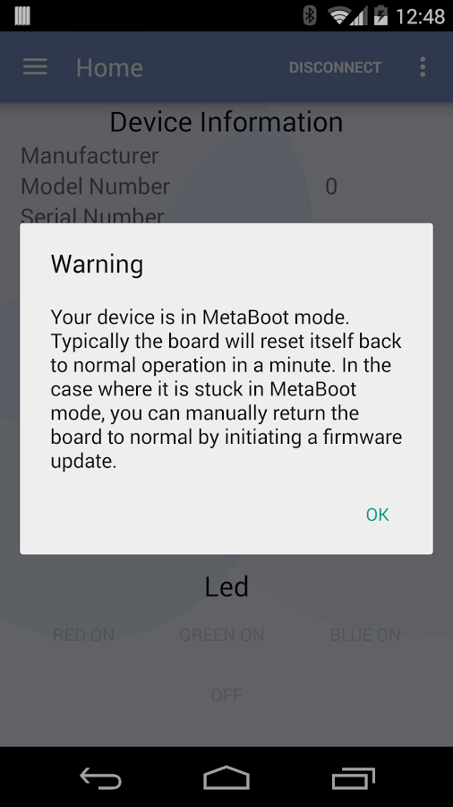 MetaWear- screenshot