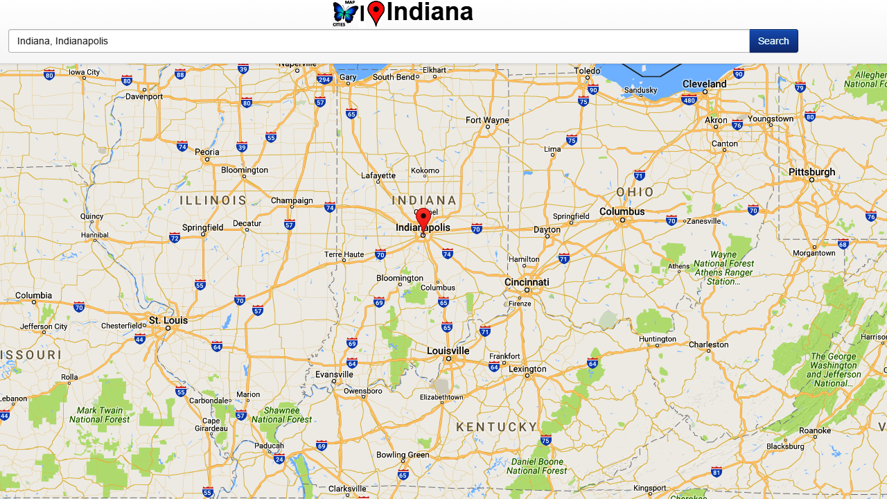 Indiana Map Android Apps On Google Play - Indiana map with cities