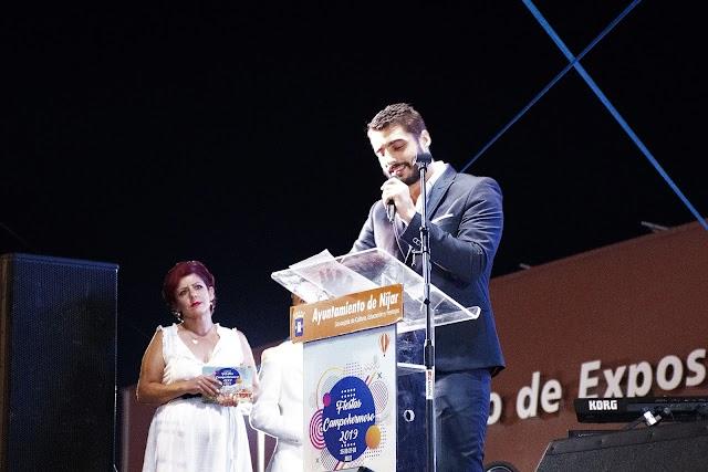 El pregonero de las Fiestas de Campohermoso, Francisco José Nieto Ruiz.