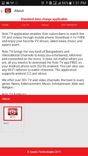 Robi TV 24 screenshots 10