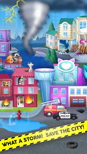 Kitty Meow Meow City Heroes - Cats to the Rescue! 2.0.51 screenshots 2