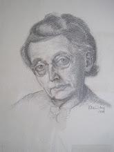 Photo: Nr.: 11 Portrait/Mutter, Bleistift, 1944