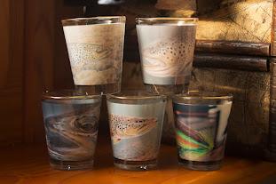 Мухарски чаши за ракия