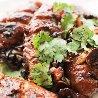 Pan-fried Garlic Chicken Wings
