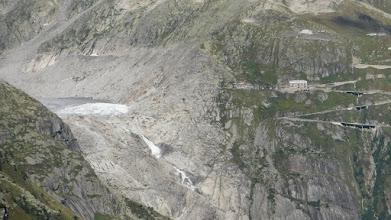 Photo: Rhone-gleccser