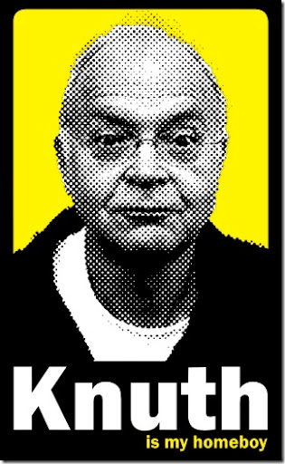 Don Knuth is my homeboy